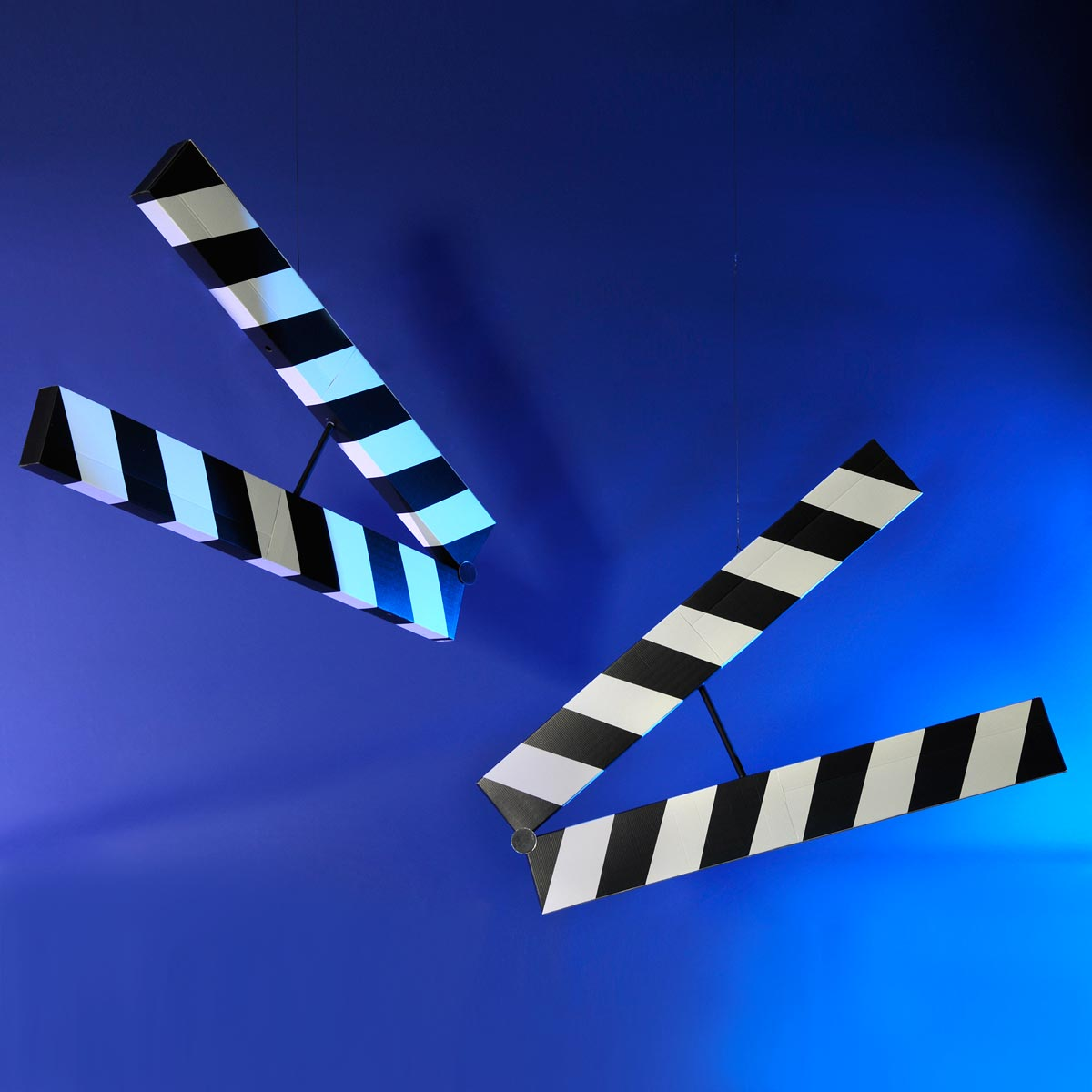 Where the Action is Clapboards Kit (set of 2)