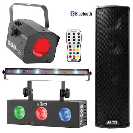 Party Entertainment Pack with Large Speaker