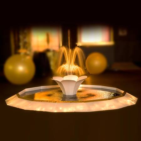 Golden Glow Fountain Kit