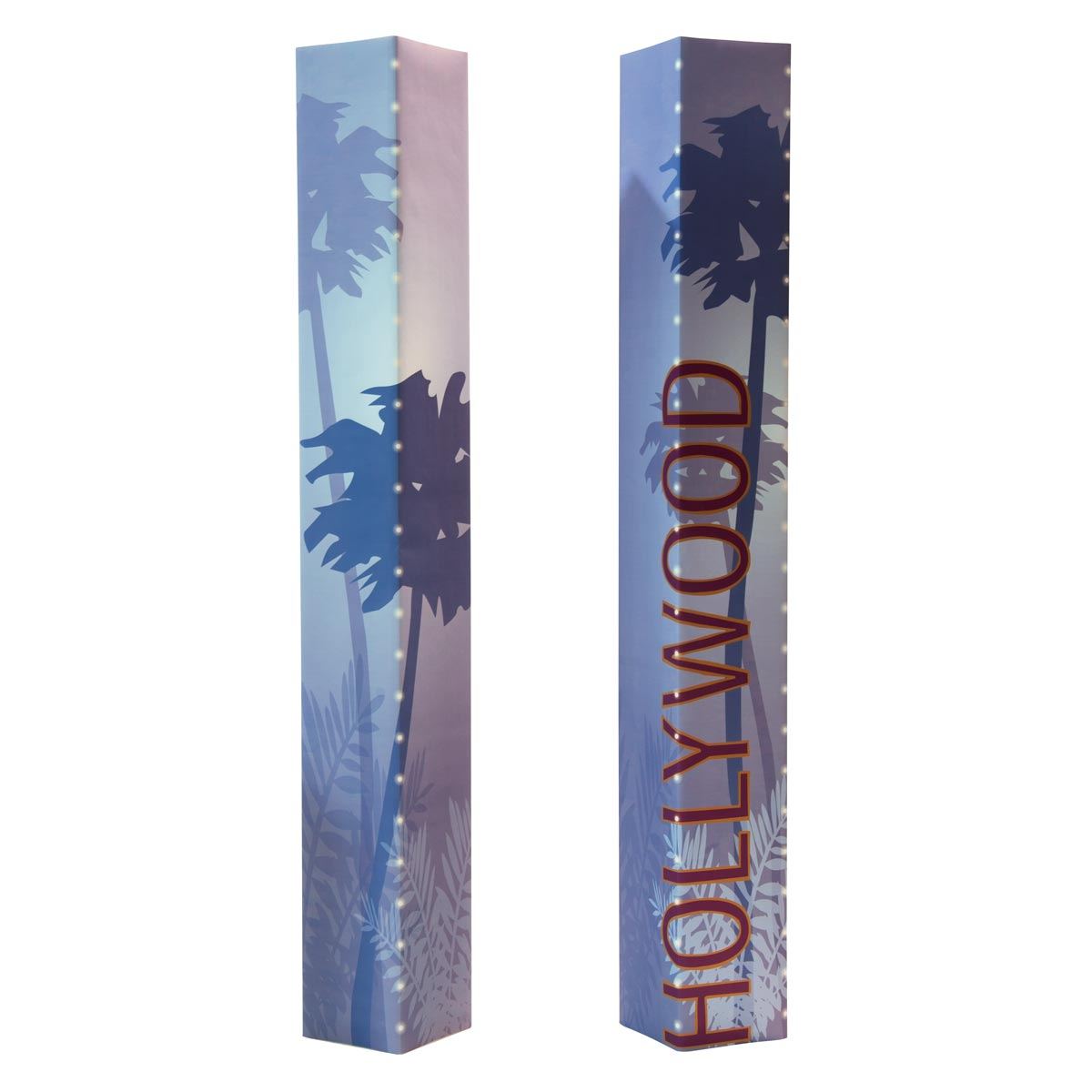 Teal Hollywood Columns Kit (set of 2)