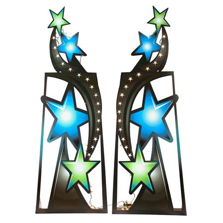 Boppin' and Weavin' Star Stands Kit (set of 2)