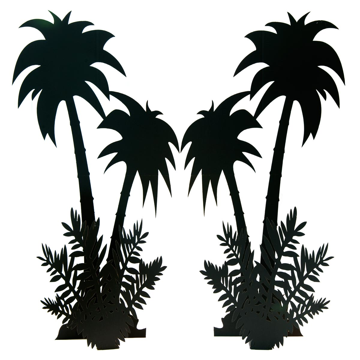 Desert Flora Ferns (set of 4) and Palm Trees (set of 2) Kit