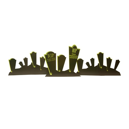 Terrifying Tombstones Kit (set of 6)