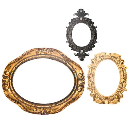 Great Frame Up Oval Frame Kit (set of 3)