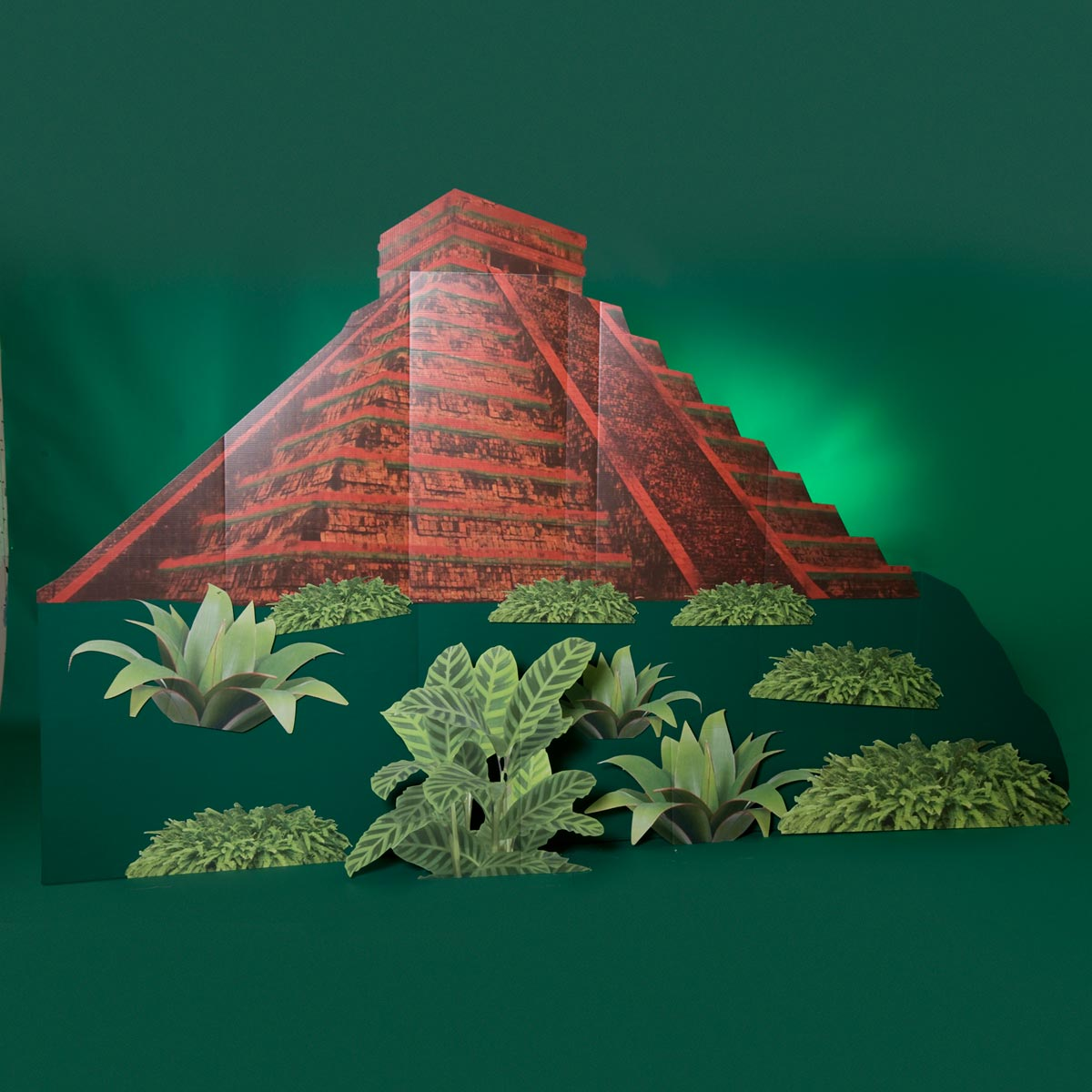 Prehistoric Pyramid With Plants Kit