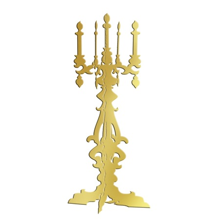 Gold Candelabra Kit