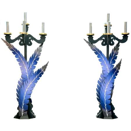 Quills and Conundrums Candelabra Kit - set of 2