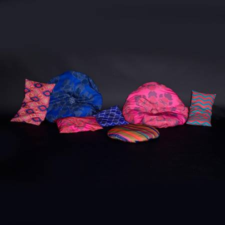Printed Palace Pillows Kit (set of 8)