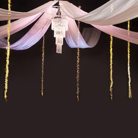 Crystal Masterpiece Chandelier Canopy Kit