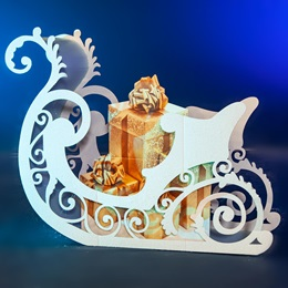 Fantasy Sleigh With Presents Kit