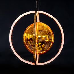 Turn the Beat Around Mirror Ball Kit