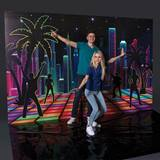 Neon City Photo Op Backdrop Kit