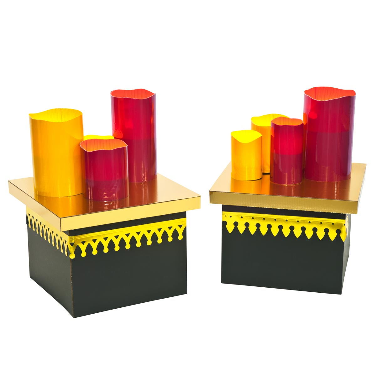 Moment of Zen Tables with Candles Kit (set of 2)