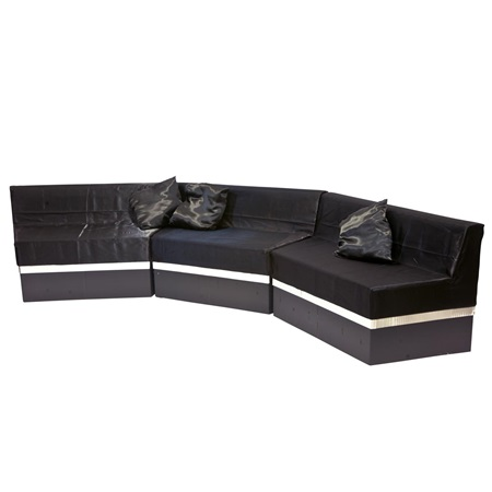 Take Time to Relax Black Sofa Kit