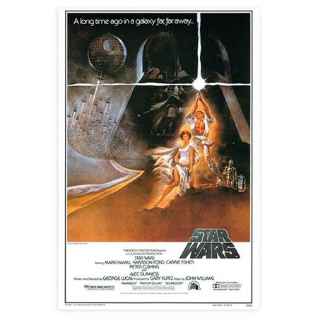 Star Wars Movie Poster - Large