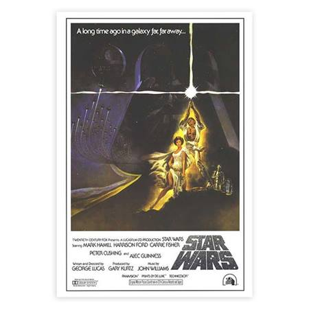 Star Wars Movie Poster - Small