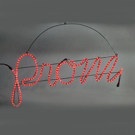Hanging Prom Sign