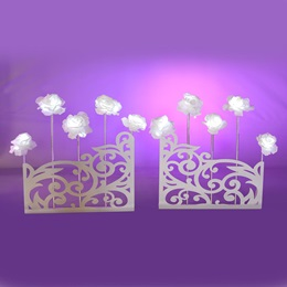 Filigree and Floral Walls Kit (set of 2)