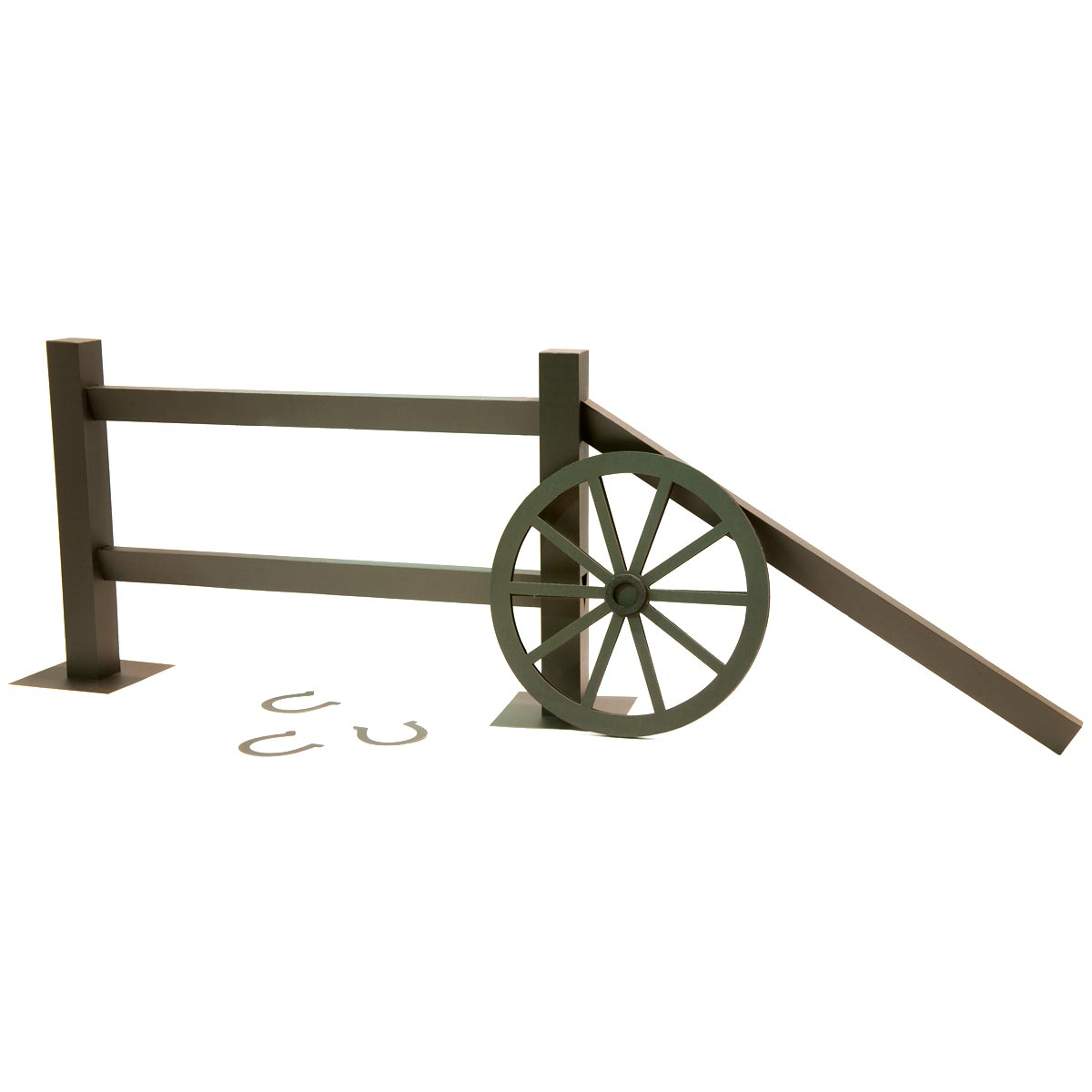 Falling For You Fence (set of 2) and Wagon Wheel Kit