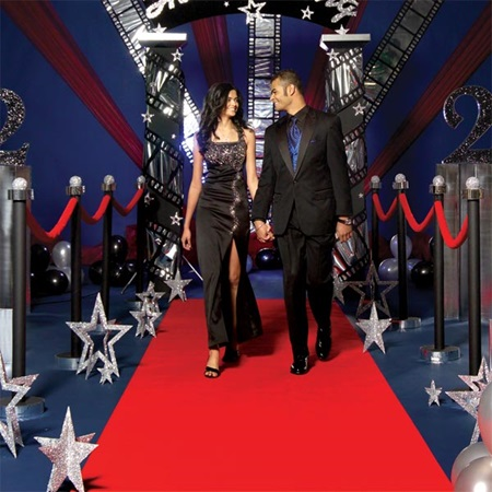 Red Carpet Debut Railings Kit (set of 2)