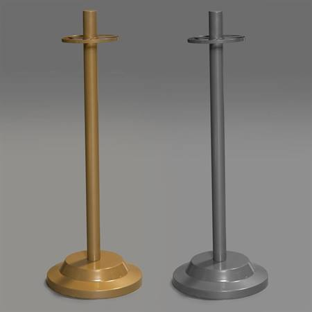 Metal Pole Stand