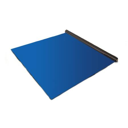 Blue Velour Carpet Runner