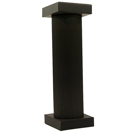 Black Traditional Column - 4 ft.