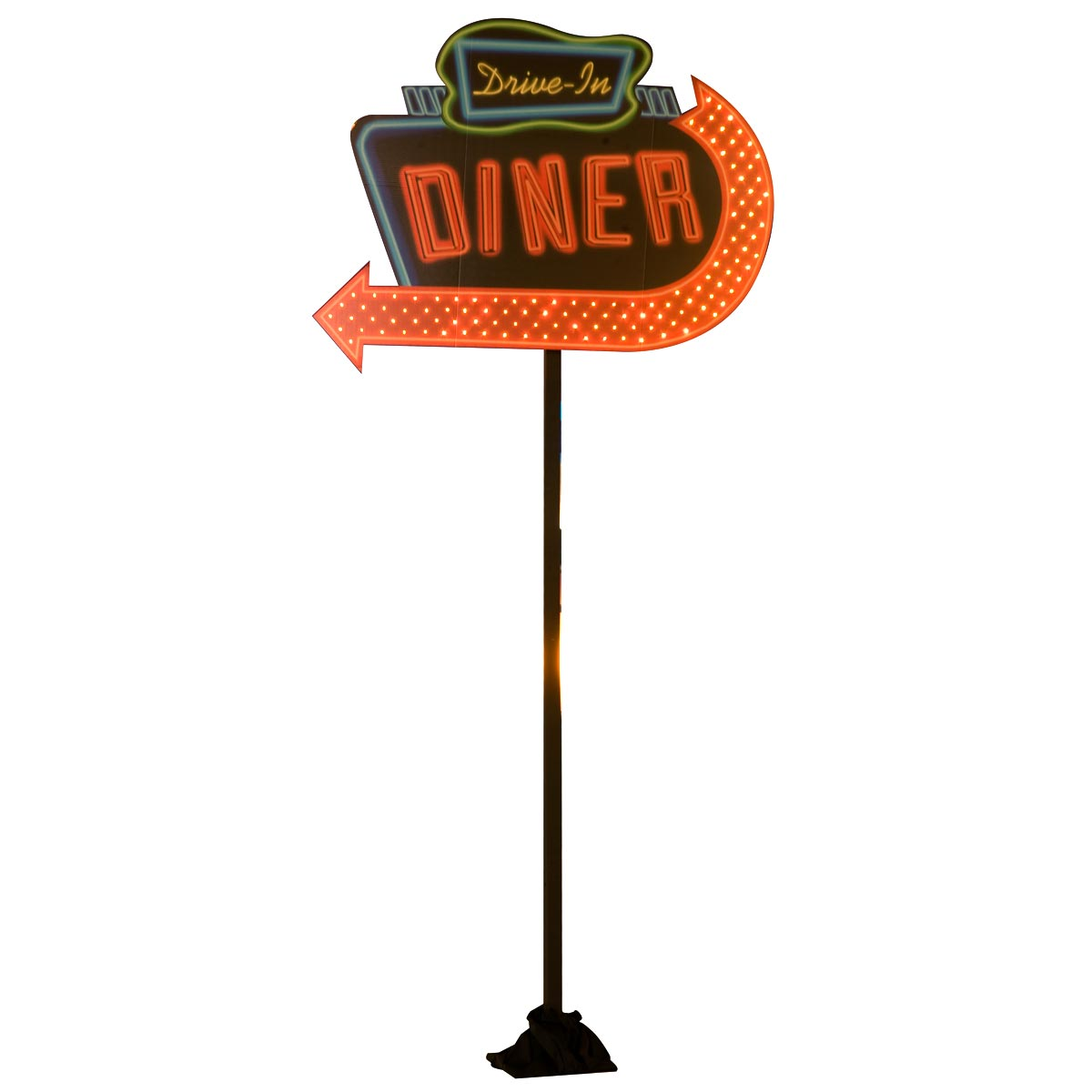Hey Daddy-O Drive-in Diner Sign Kit