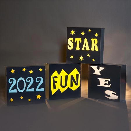 Yes/Fun/2017/Star Blocks Theme Kit (set of 4)