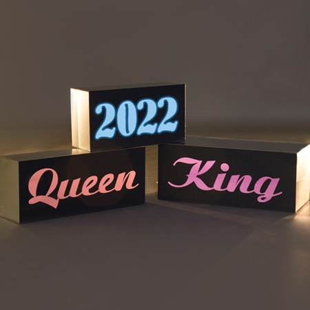 King/Queen/2017 Blocks Theme Kit (set of 3)
