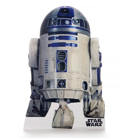 R2D2 Life Size Stand Up