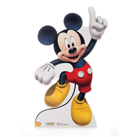 Dancing Mickey Mouse Life Size Stand Up
