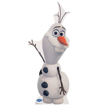 Olaf Life Size Stand Up - Disney's Frozen