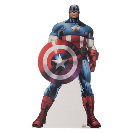 Captain America Avenger Life Size Stand Up