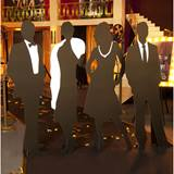 We Love the Theatre Silhouettes Kit (set of 4)