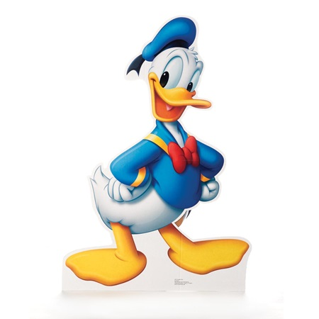 Donald Duck Life Size Stand Up