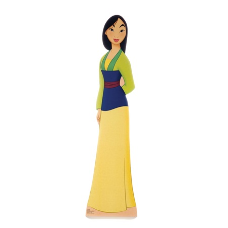 Mulan Life Size Stand Up