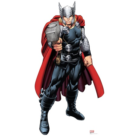 Thor Avenger Life Size Stand Up