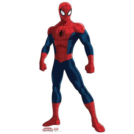 Ultimate Spiderman Life Size Stand Up