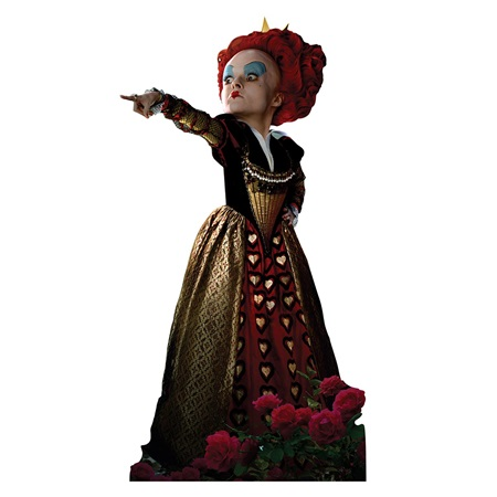 Red Queen Life Size Stand Up
