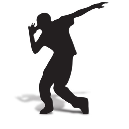 Break Dancer 2 Cut Out Silhouette