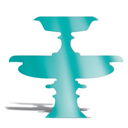 Teal Wide Fountain Silhouette Kit