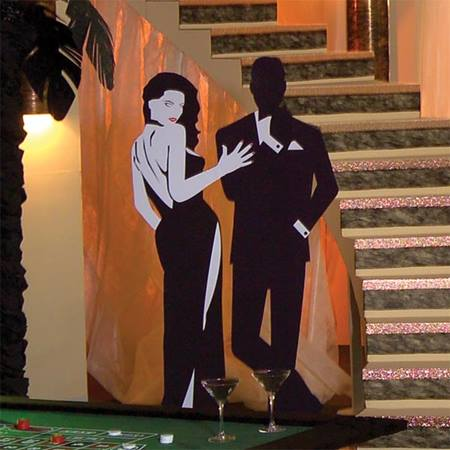 Bond Girl with Henchman Mural Kit