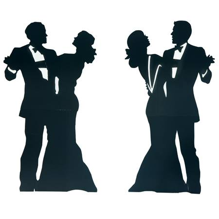 Dignified Dancing Couples Kit (set of 2)