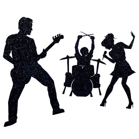 Rock N Roll Silhouettes