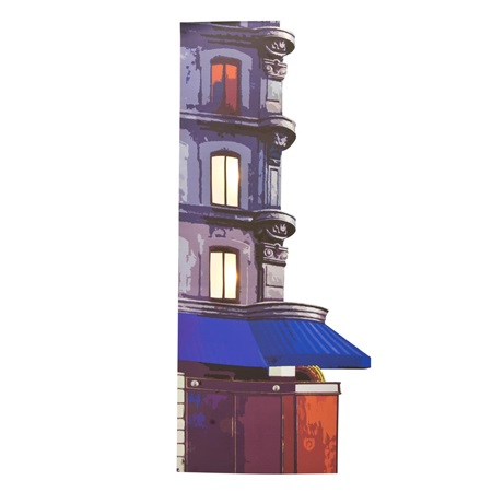 Pigalle District 3-Story Building Kit