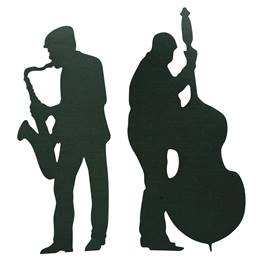 Swing Time and String Time Sax and Bass Player Kit