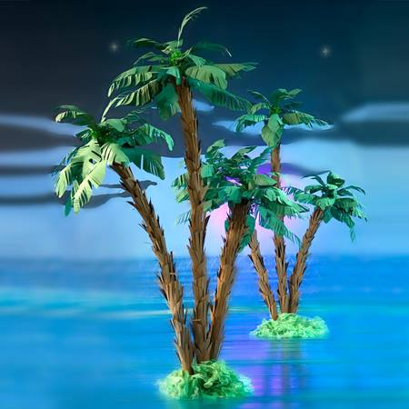 Never Grow Up Palm Trees Kit (set of 2)
