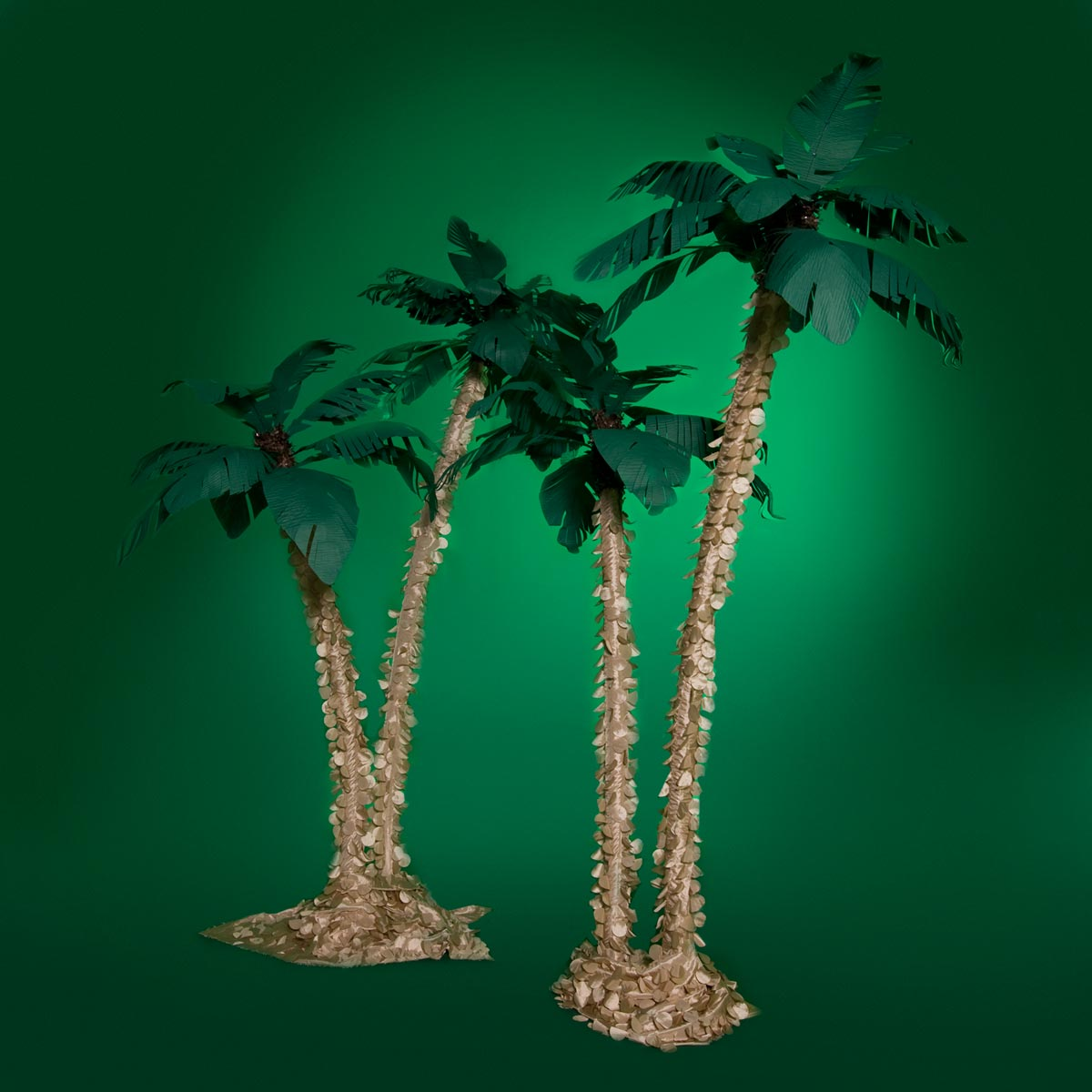 The Mighty Jungle Palm Tree Clusters Kit (set of 2)