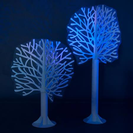 Into the Woods Blue Trees Kit (set of 2)